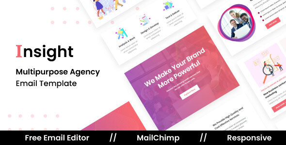 Download Insight Agency - Multipurpose Responsive Email Template Nulled