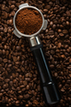 Coffee background with portafilter - PhotoDune Item for Sale