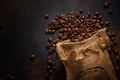 Coffee beans arabica in jute bag - PhotoDune Item for Sale
