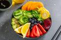 Vegan bowl with vegetables in bowl - PhotoDune Item for Sale
