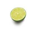 Citrus-fruit of lime slice. Close-up on white background - PhotoDune Item for Sale