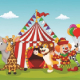 Circus and Animation Movie Track