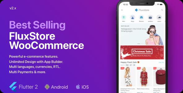 Fluxstore WooCommerce - Flutter E-commerce Pełna aplikacja