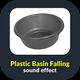Plastic Basin Falling Sound