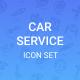Car Service icon Set - GraphicRiver Item for Sale