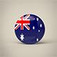 Australia Badge - 3DOcean Item for Sale