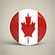 Canada Badge - 3DOcean Item for Sale