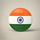 India Badge - 3DOcean Item for Sale