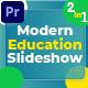 Modern Education Slideshow (MOGRT) - VideoHive Item for Sale