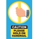 Hand Holding the Handrail in Transport - GraphicRiver Item for Sale