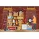 Storeroom or House Cellar Interior - GraphicRiver Item for Sale