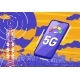 Mobile Smartphone and 5G Communication Tower - GraphicRiver Item for Sale