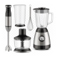 Blender Food Processor And Whisk Tools Set Vector - GraphicRiver Item for Sale