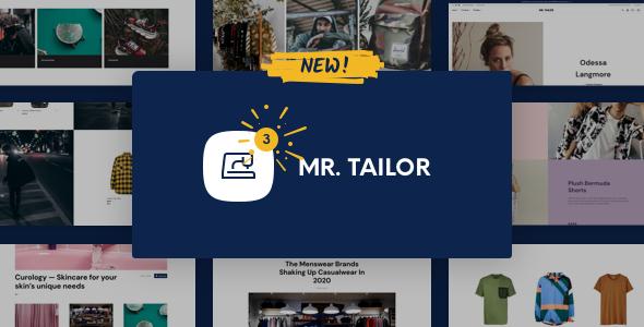 Mr. Tailor - sklep internetowy z modą i odzieżą dla WooCommerce