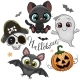 Halloween Illustrations and Design Elements  - GraphicRiver Item for Sale