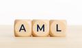 AML word on wooden blocks - PhotoDune Item for Sale