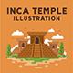 Inca Temple Illustration - GraphicRiver Item for Sale