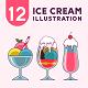 Ice Cream Illustration - GraphicRiver Item for Sale