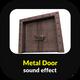 Metal Door Closing Sound