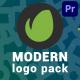 Modern Logo Pack | Premiere Pro MOGRT - VideoHive Item for Sale