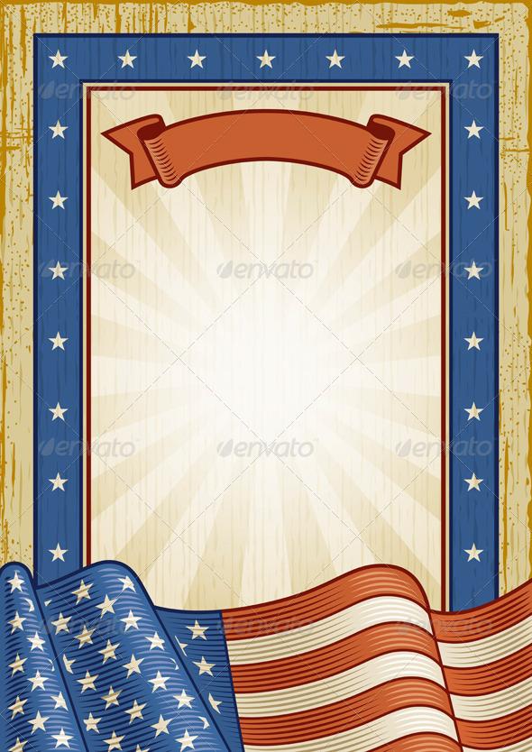 Retro American Frame