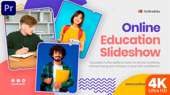 Online Education Slideshow (MOGRT)
