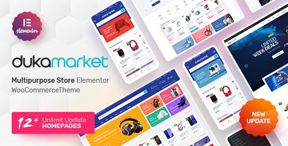 DukaMarket - Multipurpose WordPress Theme