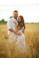 Beautiful couple standing in the field - PhotoDune Item for Sale