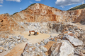 Heavy excavator on a quarry. Excavation machinery. Earthmover - PhotoDune Item for Sale
