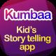 Kumbaa   28 Screens Kid's Storytelling Mobile UI Template - ThemeForest Item for Sale