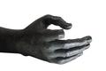 black marble statue hand with broken index finger - PhotoDune Item for Sale