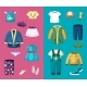 Clothes for Little Boys and Girls Set - GraphicRiver Item for Sale
