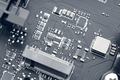Electronic Circuit Chip of a computer motherboard - PhotoDune Item for Sale