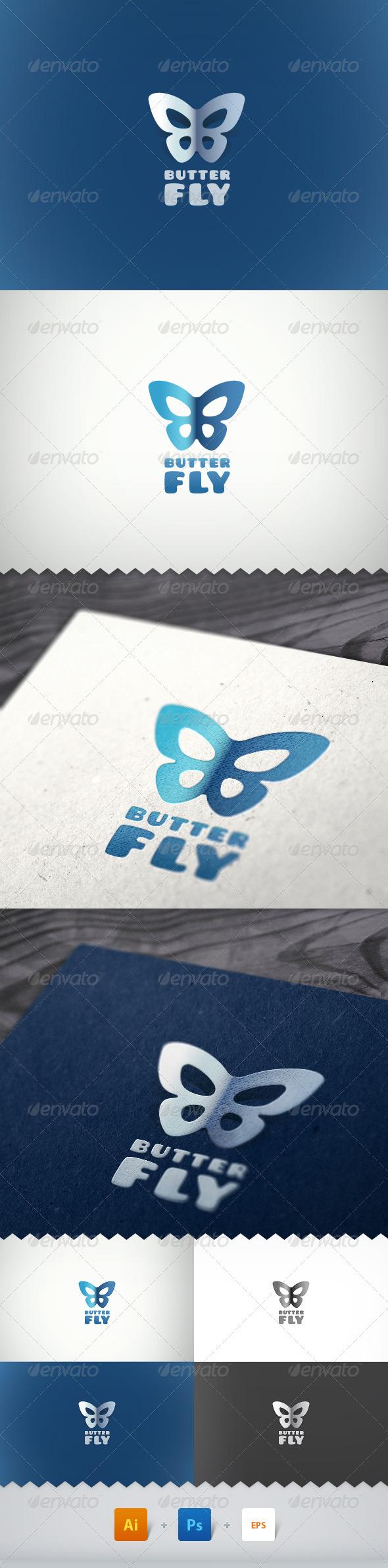 Butterfly Simple Logo