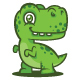 Dinosaur Logo - GraphicRiver Item for Sale