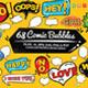 68 Comic Bubble Design - GraphicRiver Item for Sale