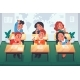 Children in Classroom - GraphicRiver Item for Sale