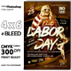 Labor Day Party Event Flyer - GraphicRiver Item for Sale