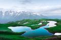 Koruldi lake Caucasus mountains on summer time - PhotoDune Item for Sale