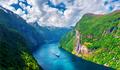 Breathtaking view of Sunnylvsfjorden fjord - PhotoDune Item for Sale