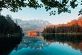 Fantastic morning on mountain lake Eibsee - PhotoDune Item for Sale