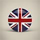 United Kingdom Badge - 3DOcean Item for Sale