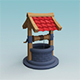 Water Well Low Poly - 3DOcean Item for Sale