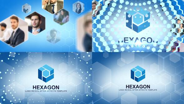 Hexagon Logo Intro