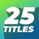 Minimal Titles for Premiere Pro