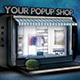 Pop Up Store Flyer - GraphicRiver Item for Sale
