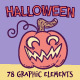 Halloween Cliparts - GraphicRiver Item for Sale