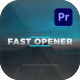 Fast Opener For Premiere Pro