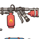 Cartoon Weapons - GraphicRiver Item for Sale