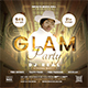 Glam Party DJ Flyer - GraphicRiver Item for Sale